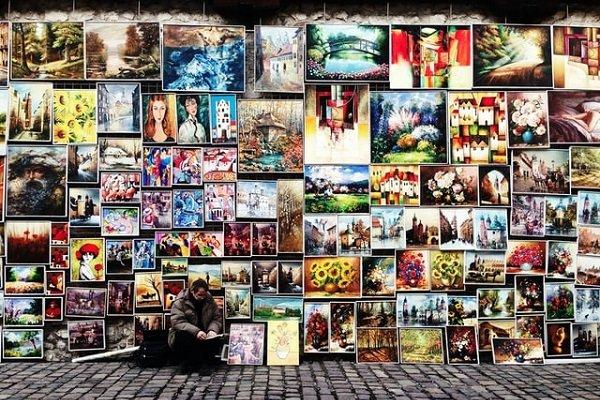 artwork on the street